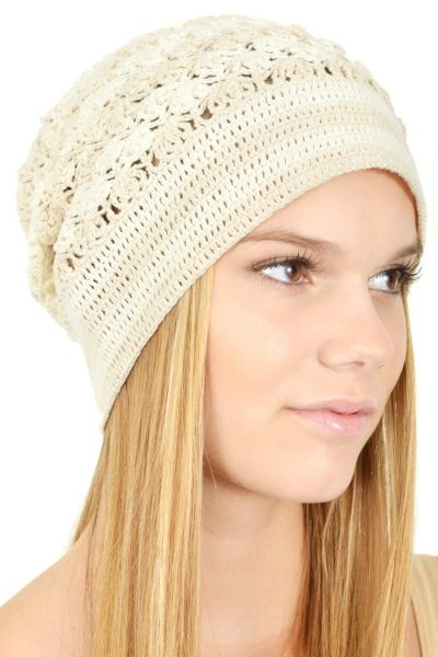crochet beanie 400x600 Artisan Crochet from Hearts