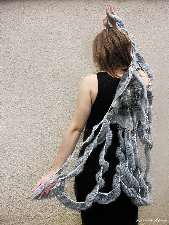 crochet cape Inspired: Etsy Crochet Garments by Maria Hera