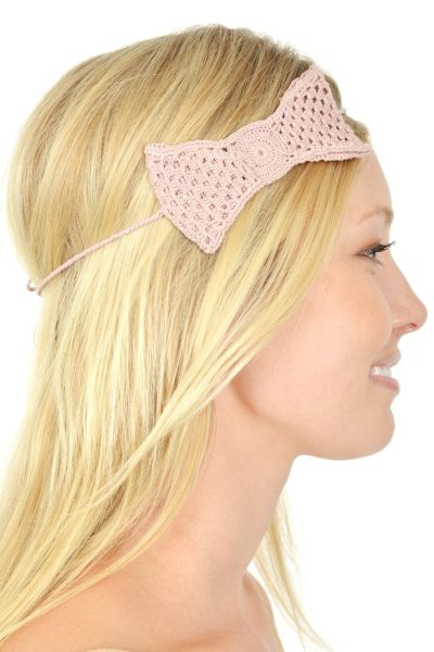 crochet headband 400x600 Artisan Crochet from Hearts