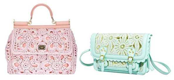 dolce and gabbana crochet purse New High Fashion Crochet from Dolce and Gabbana