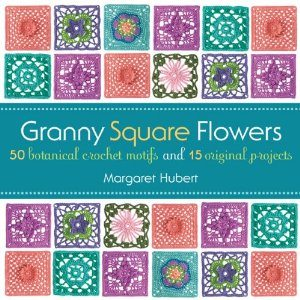 granny square flowers Crochet Book Review: Granny Square Flowers