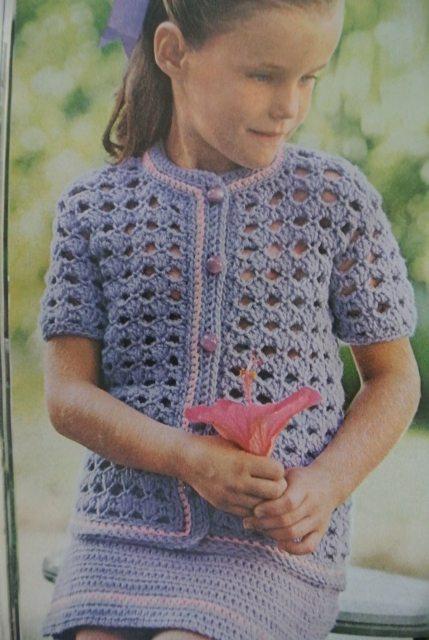 1970s crochet kid