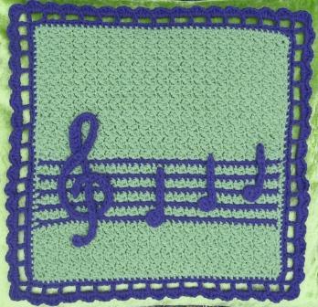 crochet music notes