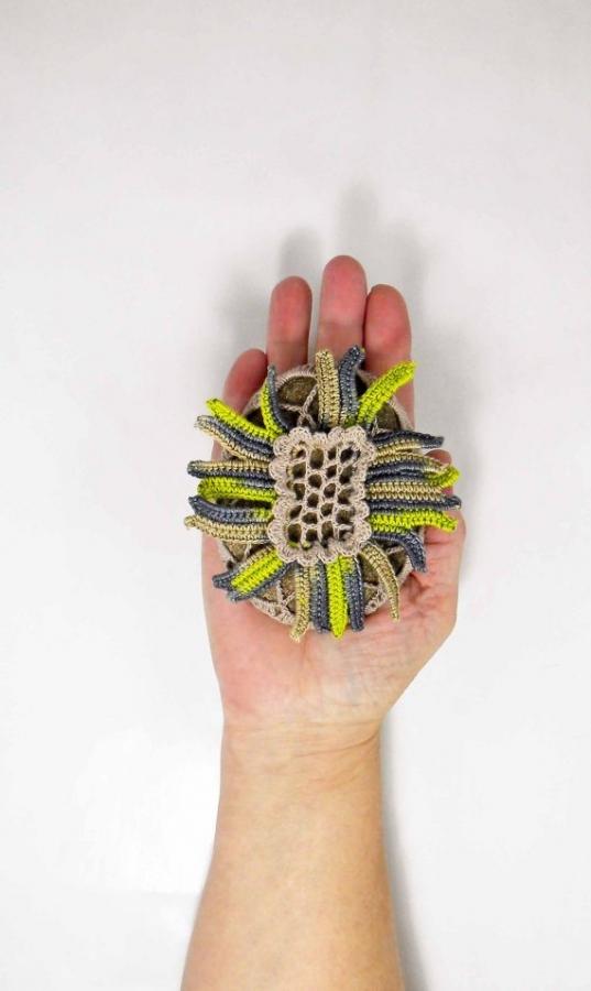 Crochet Stone Art