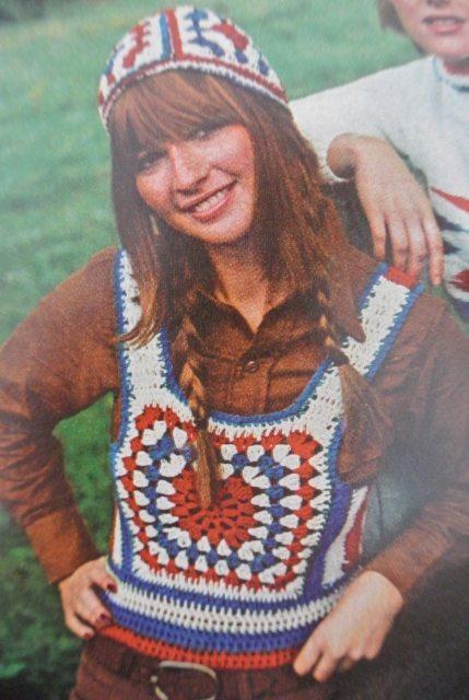 vintage 4th of july crochet