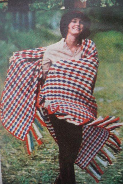 vintage crochet fourth of july