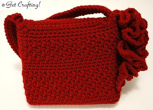 fractal crochet evening bag 10 Stunning Examples of Crochet Fractals