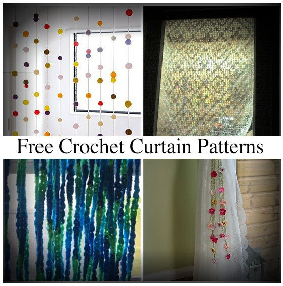 10 Beautiful Free Crochet Curtain Patterns Crochet Concupiscence