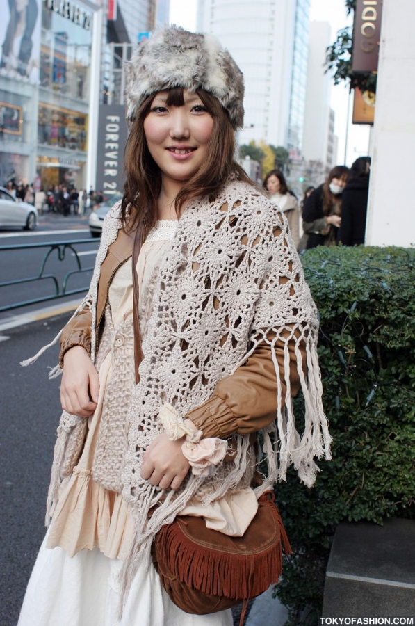 japanese crochet fashion mori
