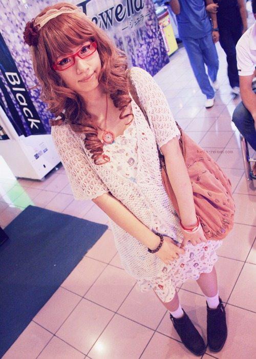 mori girl crochet dress
