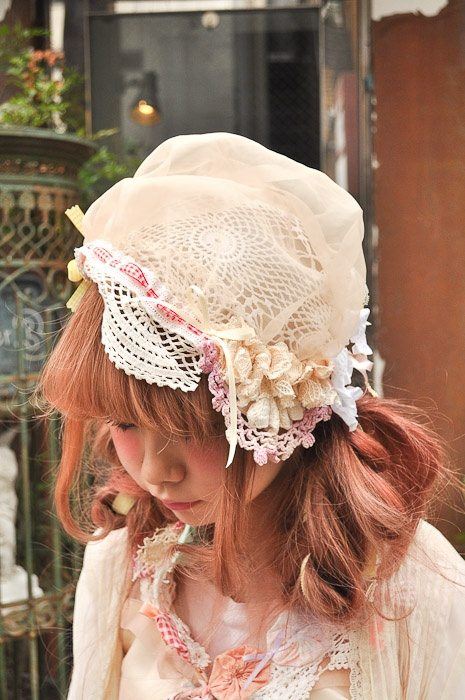mori girl doily 20+ Mori Girls and Harajuku Girls in Crochet