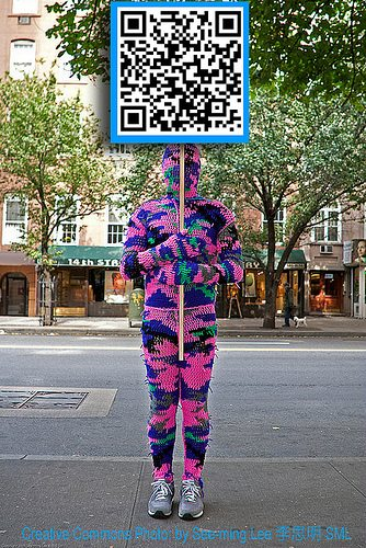 olek qr code Tech Crafty: Examples of Crochet QR Codes