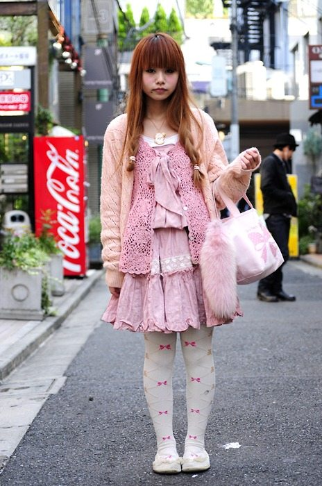 20+ Mori Girls and Harajuku Girls in Crochet
