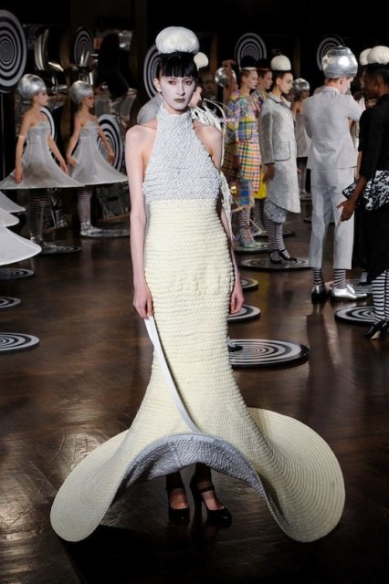 thom browne crochet dress