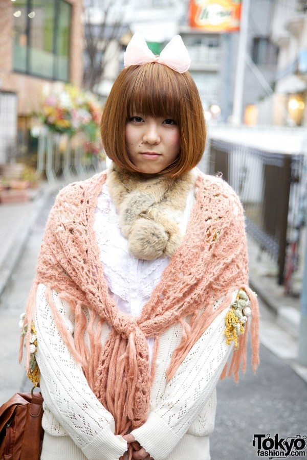 tokyo crochet fashion 20+ Mori Girls and Harajuku Girls in Crochet