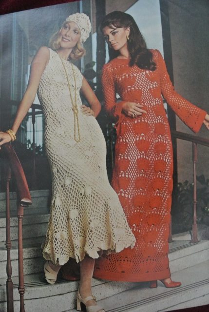1970s crochet mccalls women 20 Crochet Style Examples from 1971 McCalls