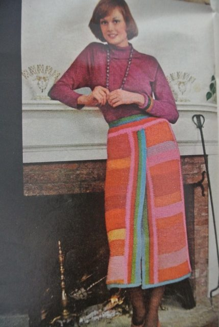 1971 crochet fashion 20 Crochet Style Examples from 1971 McCalls