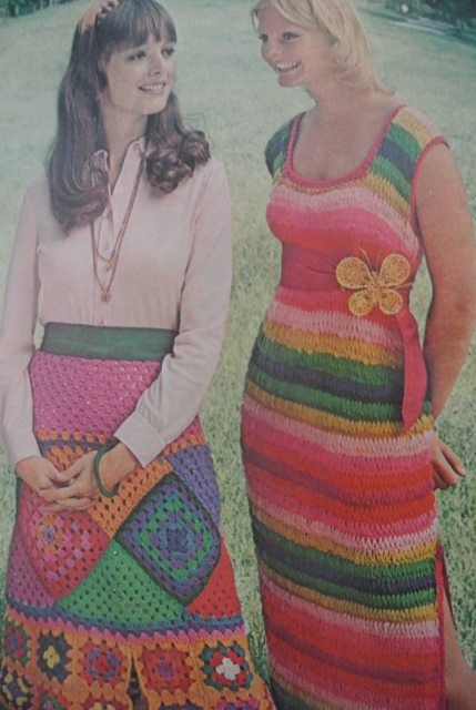 1972 mccall crochet 2 20 Hot Examples of 1970s Crochet Style from McCalls
