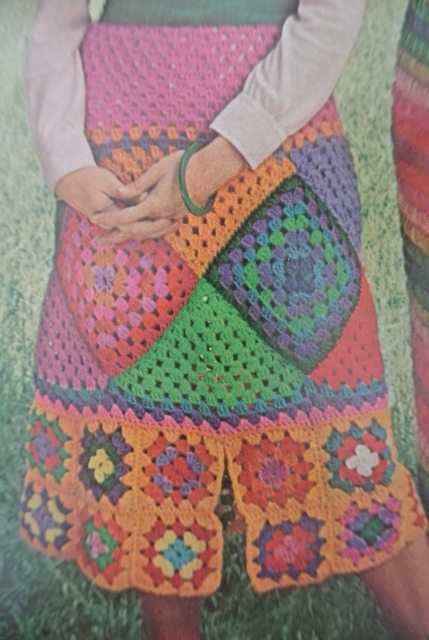 1972 mccall crochet 3 10 Beautiful Crochet Skirts, Spotlighted on Pinterest