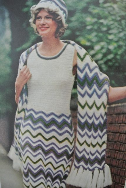 1972 mccall crochet 20 Hot Examples of 1970s Crochet Style from McCalls