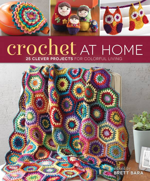 Crochet at Home Jacket Art 2013 in Crochet: Crochet Books and Writing
