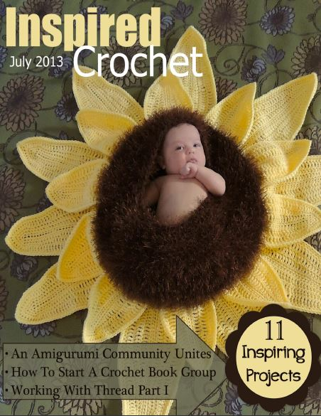 JulyCover Giveaway! Get Inspired Crochet Digital Magazine!