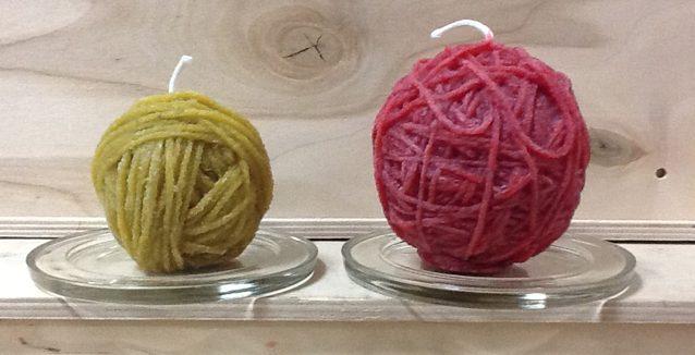 yarn candle