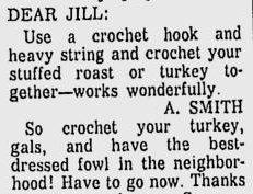 weird uses crochet hook