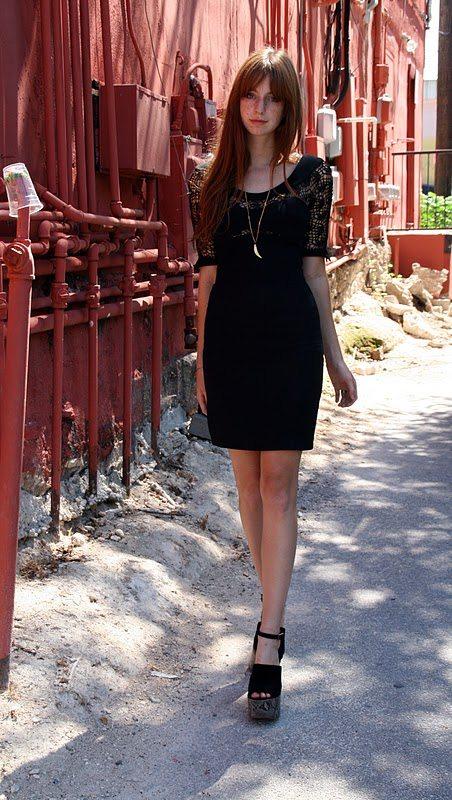 Thierry Mugler gehaakte jurk