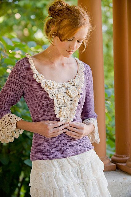 austen crochet 100 Unique Crochet Shirts and Sweaters