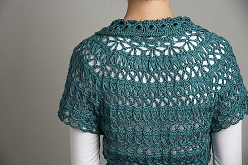 broomstick lace crochet sweater