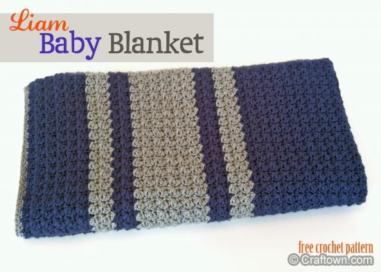 Gehaakte baby deken