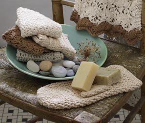 crochet bath