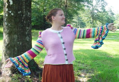 crochet colorful sweater 100 Unique Crochet Shirts and Sweaters