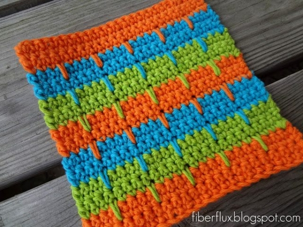 crochet dishcloth 600x450 Link Love: This Week in Crochet Blogging