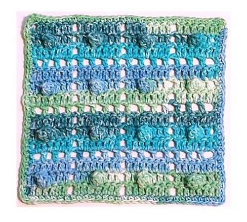 20 Unique and Beautiful Free Crochet Dishcloth Patterns