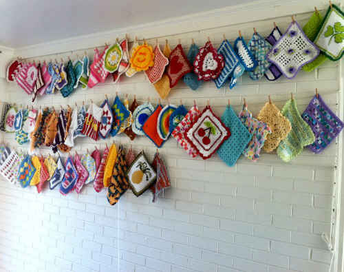crochet dishcloths on line Finding Joy in Making and Displaying Crochet Dishcloths