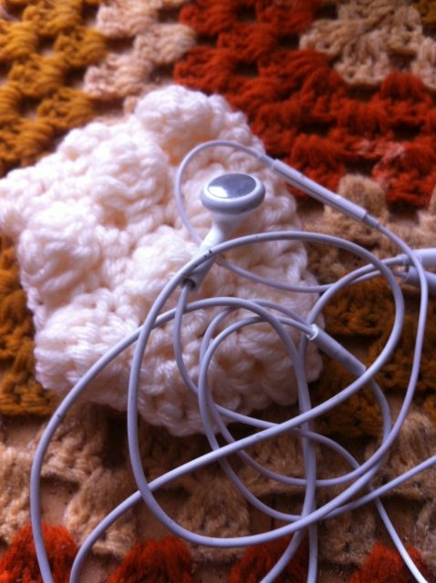 crochet earbud holder Updates from a Crochet Blogger