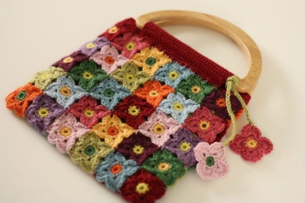 Crocheting Videos : crochet blossoming bag pattern for sale from @sandracherryhrt