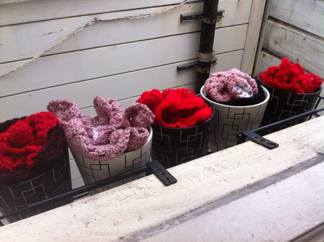 Post image for Repotting for the Brown Thumb: My Crochet Flowers