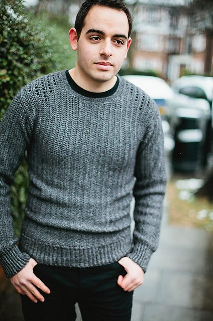 crochet men sweater pattern