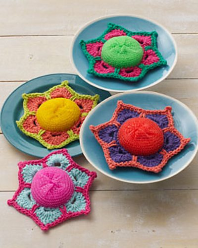 crochet scrubbie pattern1 20 Unique and Beautiful Free Crochet Dishcloth Patterns