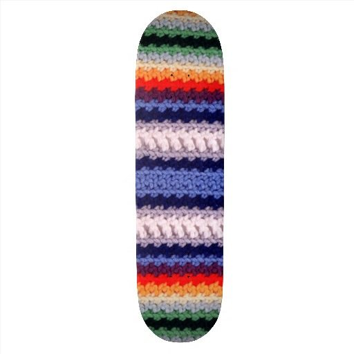 crochet skateboards