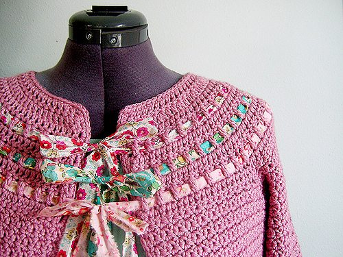 crochet sweater pattern with bows 100 Unique Crochet Shirts and Sweaters
