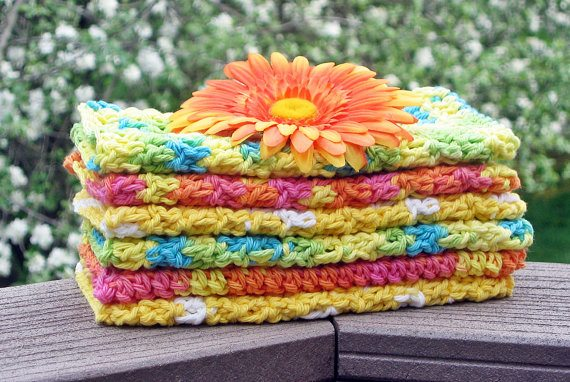 crochet washcloths Finding Joy in Making and Displaying Crochet Dishcloths