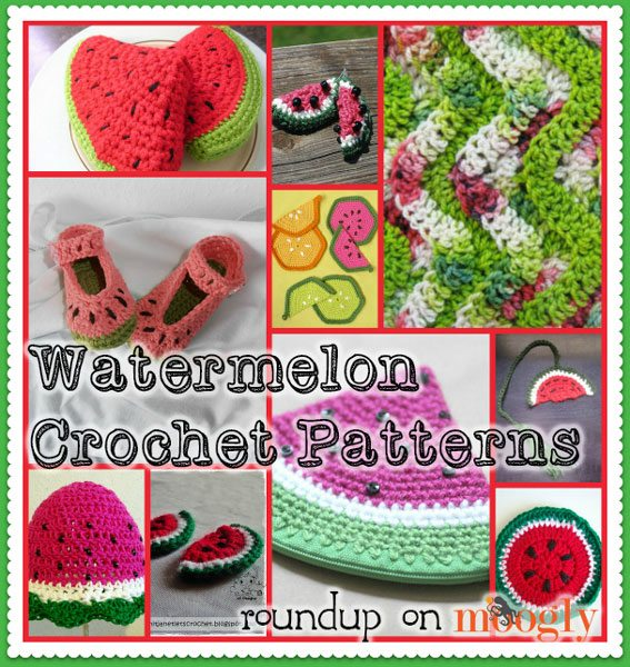 crochet watermelon patterns Sponsor Love: Moogly Blog Crochet Patterns, Tutorials and More