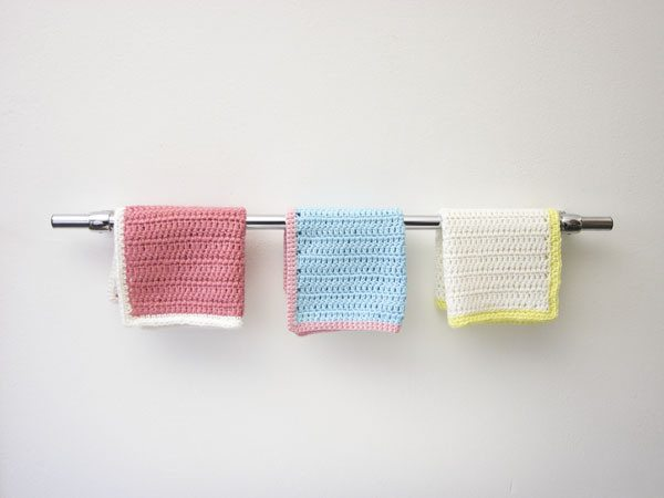 dishcloth display crochet