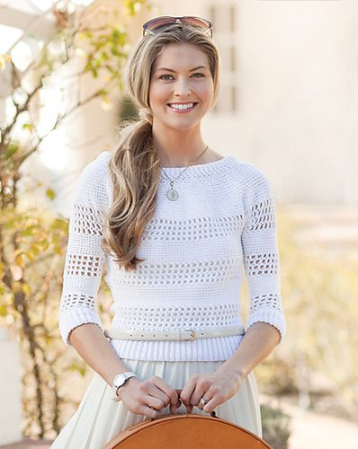 filet crochet sweater 100 Unique Crochet Shirts and Sweaters