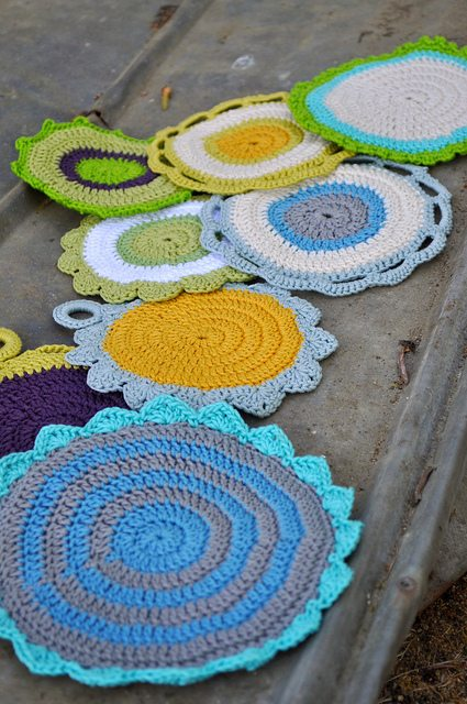 maggies kitchen dishcloth pattern