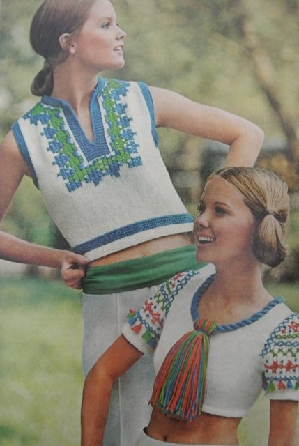 more 70s crochet women 20 Crochet Style Examples from 1971 McCalls